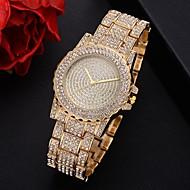 Femme Montre Bracelet Quartz Argent / Doré / Or Rose Cool Imitation de diamant Analogique Steampunk - Or Argent Or Rose