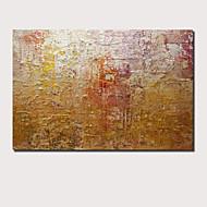 billiga Abstrakta målningar-Hang målad oljemålning HANDMÅLAD - Abstrakt Landskap Samtida Moderna Inkludera innerram