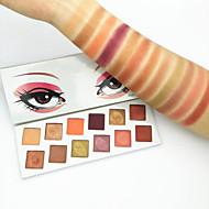 billiga Ögonskuggor-12 färger Ögonskuggor Kosmetisk / Ögonskugga Lätt att bära / Dam Bärbar Multifunktionell Vardagsmakeup / Halloweenmakeup / Festmakeup Smink Kosmetisk