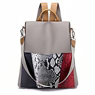 cheap School Bags-Women's / Girls' Bags Oxford Cloth Backpack Zipper Black / Khaki