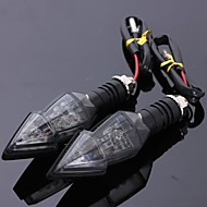 2pcs Conexão de fio Motocicleta Lâmpadas 15 Lâmpada de Seta Para Toyota / Mercedes-Benz / Honda Todos os Modelos Todos os Anos