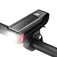 billige Sykkellykter og reflekser-Led Lys / Frontlys til sykkel / Bike Horn Light LED Sykkellykter Sykling Vanntett, Justerbar, Enkel å bære Oppladbart Batteri 200 lm Oppladbart Batteri Hvit Camping / Vandring / Grotte Udforskning
