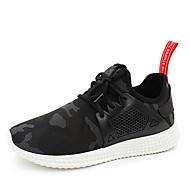 Per uomo Scarpe comfort Cotone Primavera & Autunno scarpe da ginnastica Footing Nero / Verde
