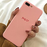 hoesje Voor Apple iPhone XR / iPhone XS Max Patroon Achterkant Woord / tekst / Hart / Cartoon Zacht TPU voor iPhone XS / iPhone XR / iPhone XS Max