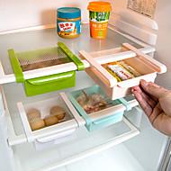 keittiöorganisaatio säilytyslaatikot / elintarvikevarasto / irtotavaroiden säilytys muovi varastointi / luova keittiö gadget 1kpl