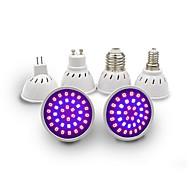 1st 3 W 150 lm E14 GU10 MR11 Växande glödlampa GU10 36 LED-pärlor SMD 2835 Fullt Spektrum Röd Blå 110-130 V 200-240 V