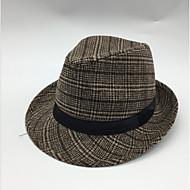 สำหรับผู้ชาย ลายสก็อต วินเทจ - หมวกบัคเก็ต