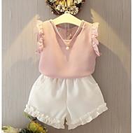 Girls' Summer Clothing Sets On Sales