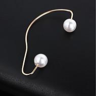 女性用 幾何学的 耳の袖口 イヤリング ジュエリー ゴールド 用途 カジュアル マスカレード 祝日 バレンタイン 1個