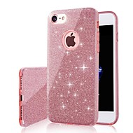 Etui Til Apple iPhone XS Max / iPhone 6 Glitterskin Bagcover Glitterskin Hårdt TPU for iPhone XS / iPhone XR / iPhone XS Max