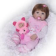 FeelWind 다시 태어난 인형 여아 22 인치 전신 실리콘 - 아동 아이의 남여 공용 장난감 선물