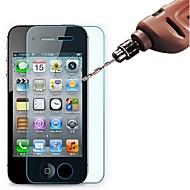 3 stk hd hærdet glas skærmbeskytter film til iphone 4 / 4s / 5 / 5s / 5c / se / 6 / 6s / 6 plus / 6s plus / 7/7 plus / 8/8 plus / x / xs / xr / xs plus