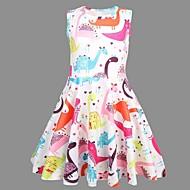 Kids Girls' Animal Dress Rainbow