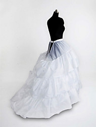 cheap -Wedding Party / Evening Slips Nylon Tulle Floor-length Chapel Train Classic & Timeless with