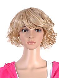 abordables -Pelucas sintéticas Pelo sintético Peluca Mujer negro peluca Fiesta
