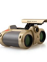 Недорогие -4X30 мм Бинокль LED Ночное видение Детская игрушка Центральная фокусировка