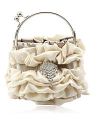 preiswerte -Gorgeous Satin Schale Abend Handtaschen / Kupplungen / top Griff Taschen weitere Farben erhältlich