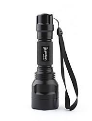 Uniquefire LED Flashlights/Torch Handheld Flashlights/Torch LED 1000 Lumens 3 Mode Cree XM-L T6 18650 Camping/Hiking/Caving