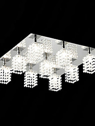 cheap -Modern/Contemporary Flush Mount Bulb Included 110V 220-240V Crystal Ambient Light