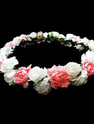 Недорогие -прекрасной бумаге цветок свадьба венок девушки / головной убор
