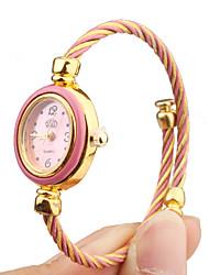 Mujer Reloj Casual Cuarzo Banda Caramelo Múltiples Colores