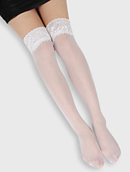 cheap -Women's Socks & Hosiery Stretchy Acrylic Knee Highs Hold Ups Stockings