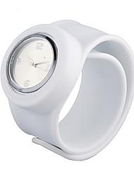 povoljno -Žene Povuci-potegni Silikon Grupa Ručni satovi s mehanizmom za navijanje