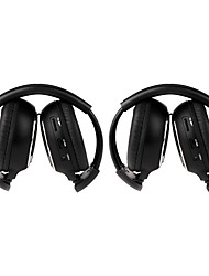 cheap -2-pack IR Wireless Two-Channel Foldable Headphones for Car IR-2011D