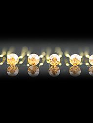 billige -Ædelsten og krystal / Krystal / Stof Tiaras / Hovedstykke / Hair Pin med Krystal 1 Bryllup / Speciel Lejlighed / Fest / aften Medaljon / Legering