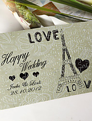 cheap -Personalized Jigsaw Puzzle - Love Eiffel Tower