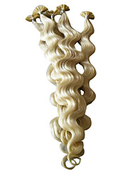 """baratos -20 """"de queratina das unhas ponta extensões de cabelo 100 peças por pacote"""