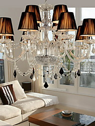 cheap -Modern/Contemporary Chandelier For Living Room Bedroom Dining Room Kids Room AC 100-240V Bulb Not Included