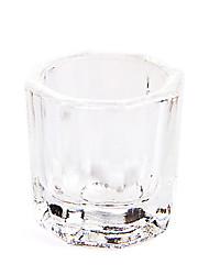 abordables -cristaux dappen plat nail art powde liquides acrylice