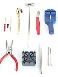 16stk ur Reparations værktøjs sæt