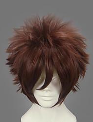 povoljno -Cosplay Wigs Naruto Gaara Anime Cosplay Wigs 30 CM Otporna na toplinu vlakna Muškarci