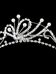 cheap -Women's / Flower Girl's Alloy / Imitation Pearl Headpiece-Wedding / Special Occasion Tiaras