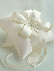 Elegant Ivory Ring Pillow
