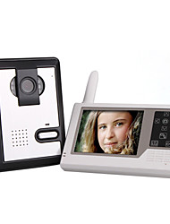 cheap -2.4GHz Wireless 3.5 Inch Touch Screen Monitor Video Door Phone with Camera
