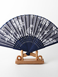Chrysanthemum Pattern Hand Fan (Set of 4)