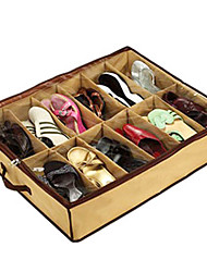 Storage Boxes Textile with Feature is Lidded , 147 Shoes