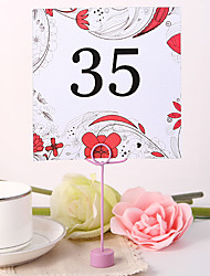 cheap -Square Table Number Card - Spring Garden