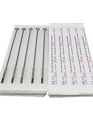 economico -50pcs sterili in acciaio inox aghi per tatuaggio 25 25 7M1 9M1