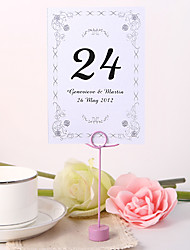 cheap -Personalized Table Number Card - Garden
