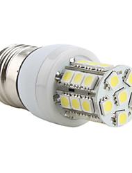 E26/E27 LED Corn Lights T 27 SMD 5050 300lm Natural White 5500K AC 220-240V
