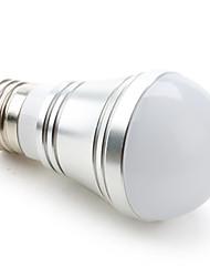 billige -1pc 3.5 W LED-globepærer 200-250LM E26 / E27 9 LED perler SMD 5730 Varm hvit Kjølig hvit Naturlig hvit 110-240 V 12 V