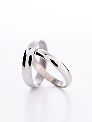 cheap -Women's Platinum Plated Statement Ring - Love Fashion Ring For Daily
