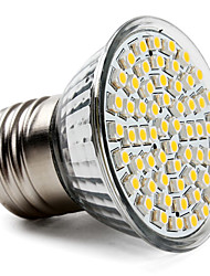cheap -3.5W 300-350lm E26 / E27 LED Spotlight PAR38 60 LED Beads SMD 3528 Warm White 220-240V