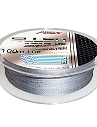 cheap -600M / 660 Yards / 300M / 330 Yards / 100M / 110 Yards PE Braided Line / Dyneema / Superline Fishing Line 60LB / 50LB / 40LB