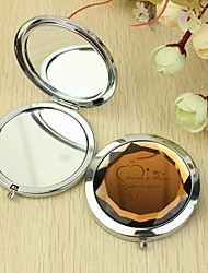 Personalized Make Up Compact - Heart (More Colors)