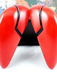 abordables -tocados cosplay inspirado por neon genesis evangelion ver-asuka batalla. rojo